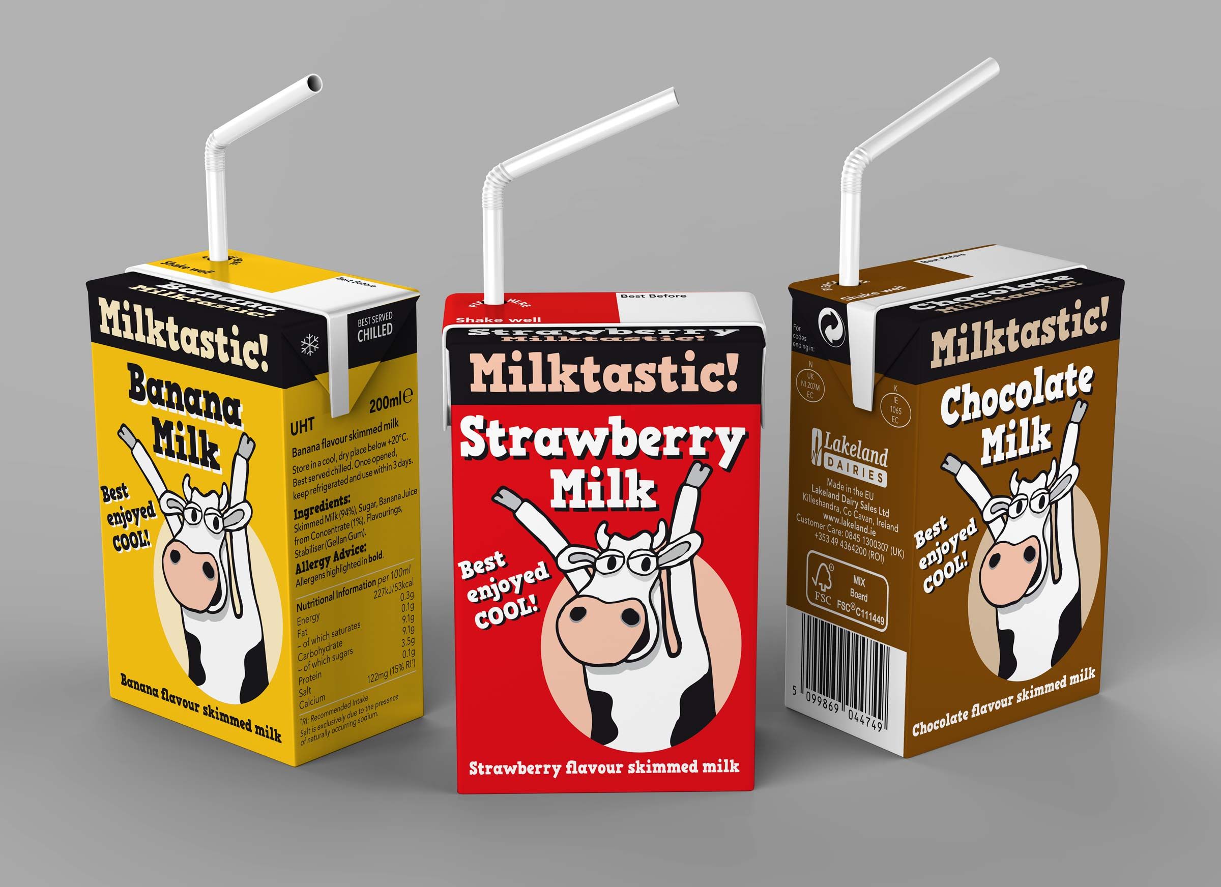 Milktastic 200ml packs
