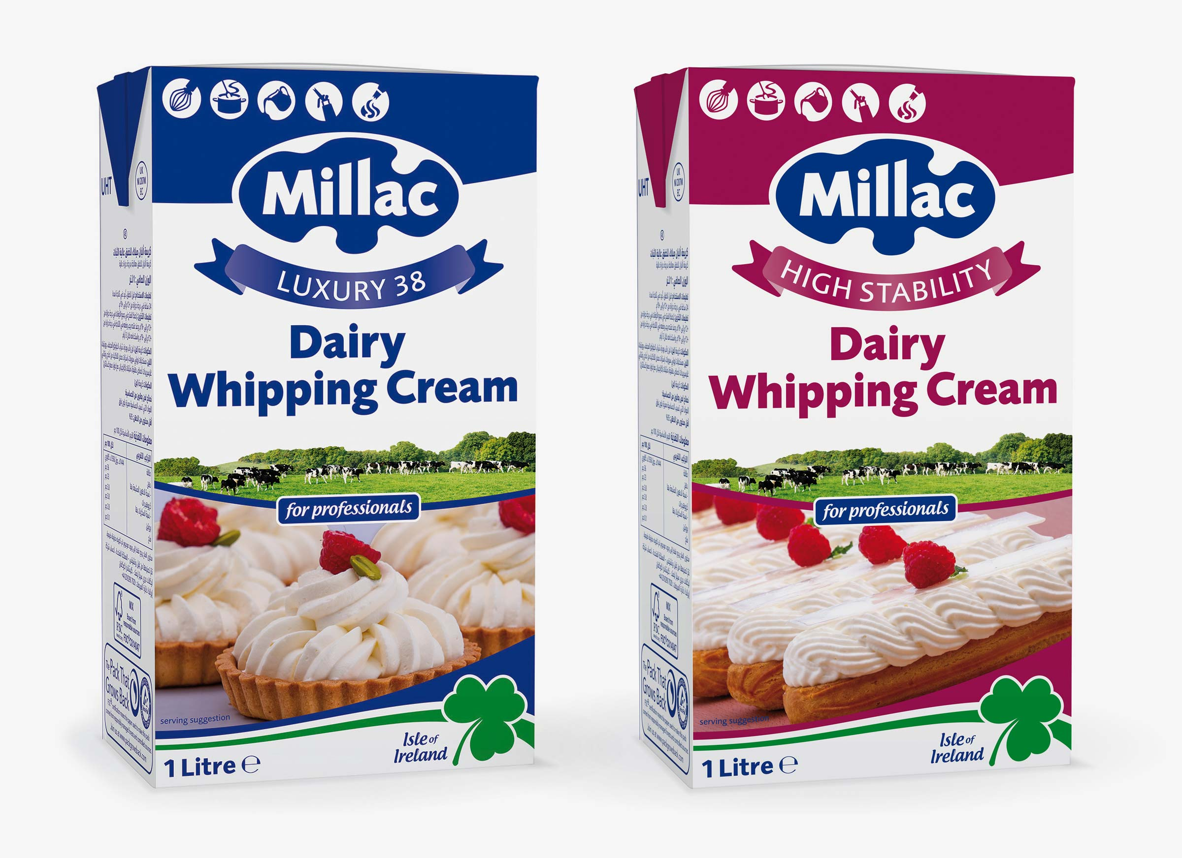 Millac Dairy Whipping Cream