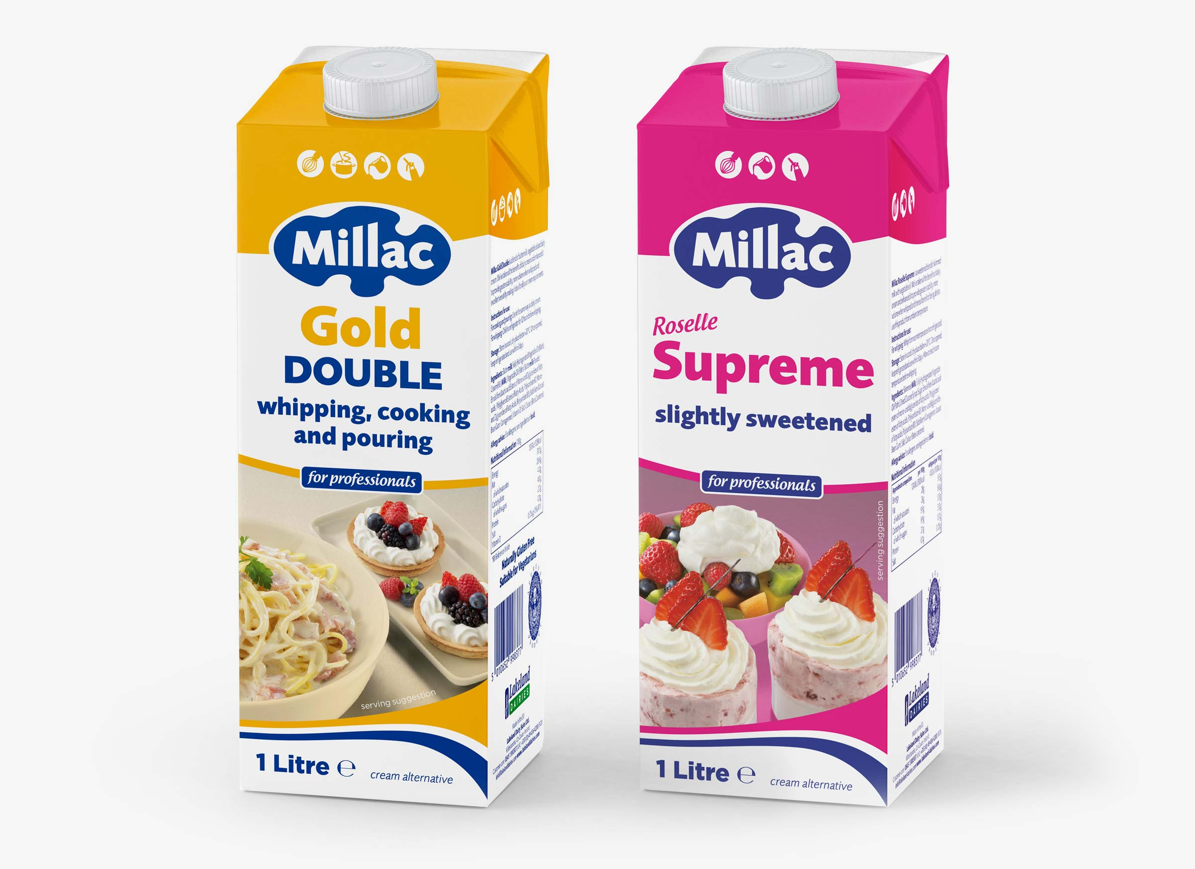 Millac Teatra Edge packaging