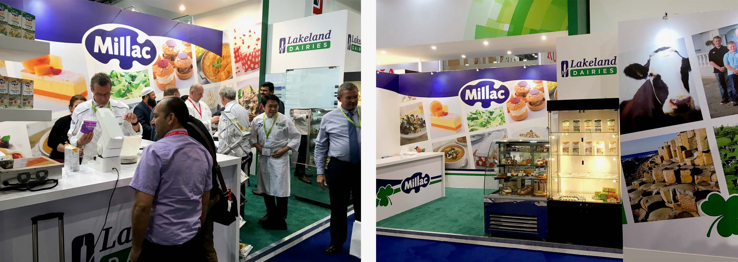 Millac exhibition at Gulfoods 2017