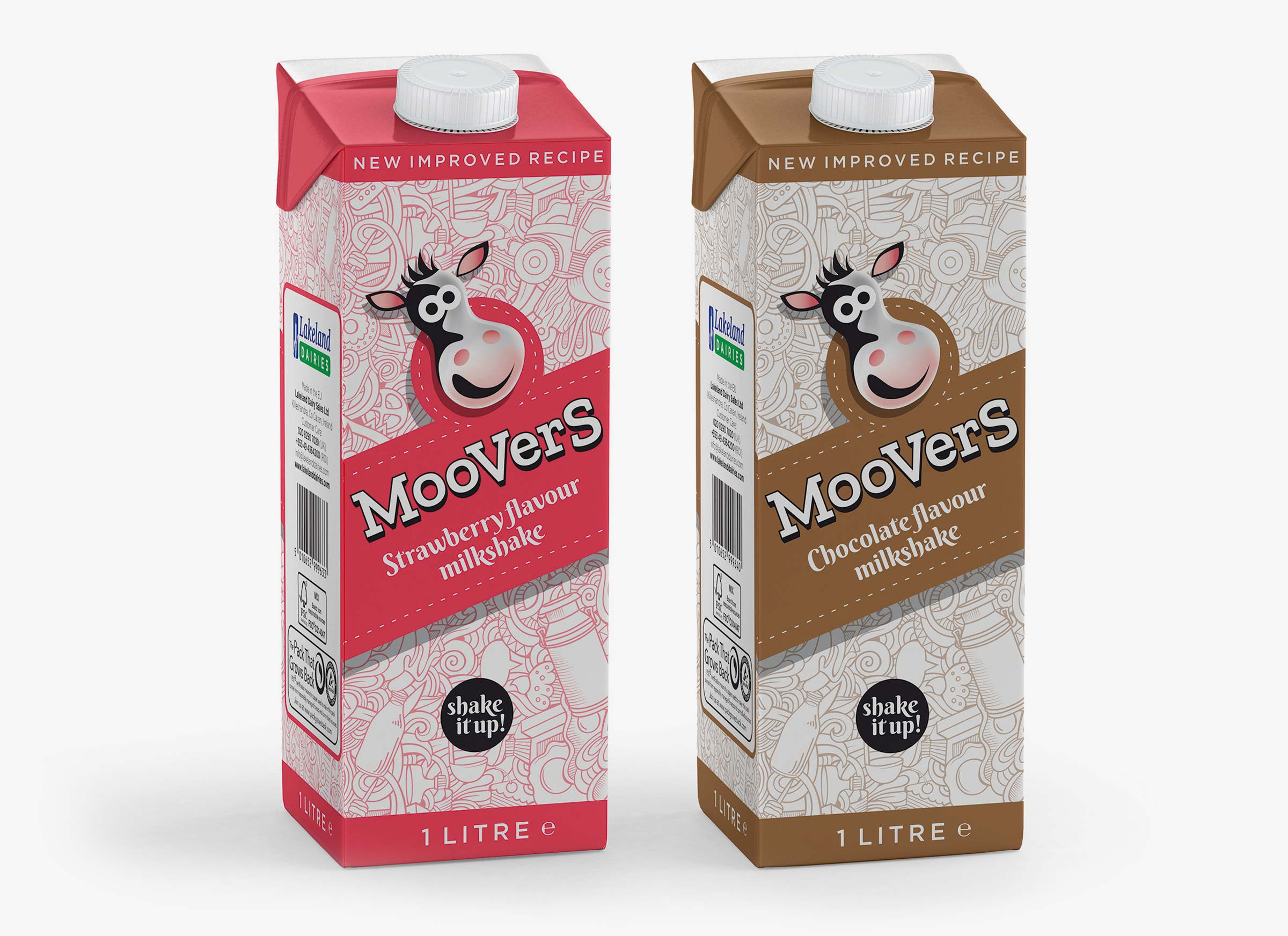 Moovers 1 Litre packs