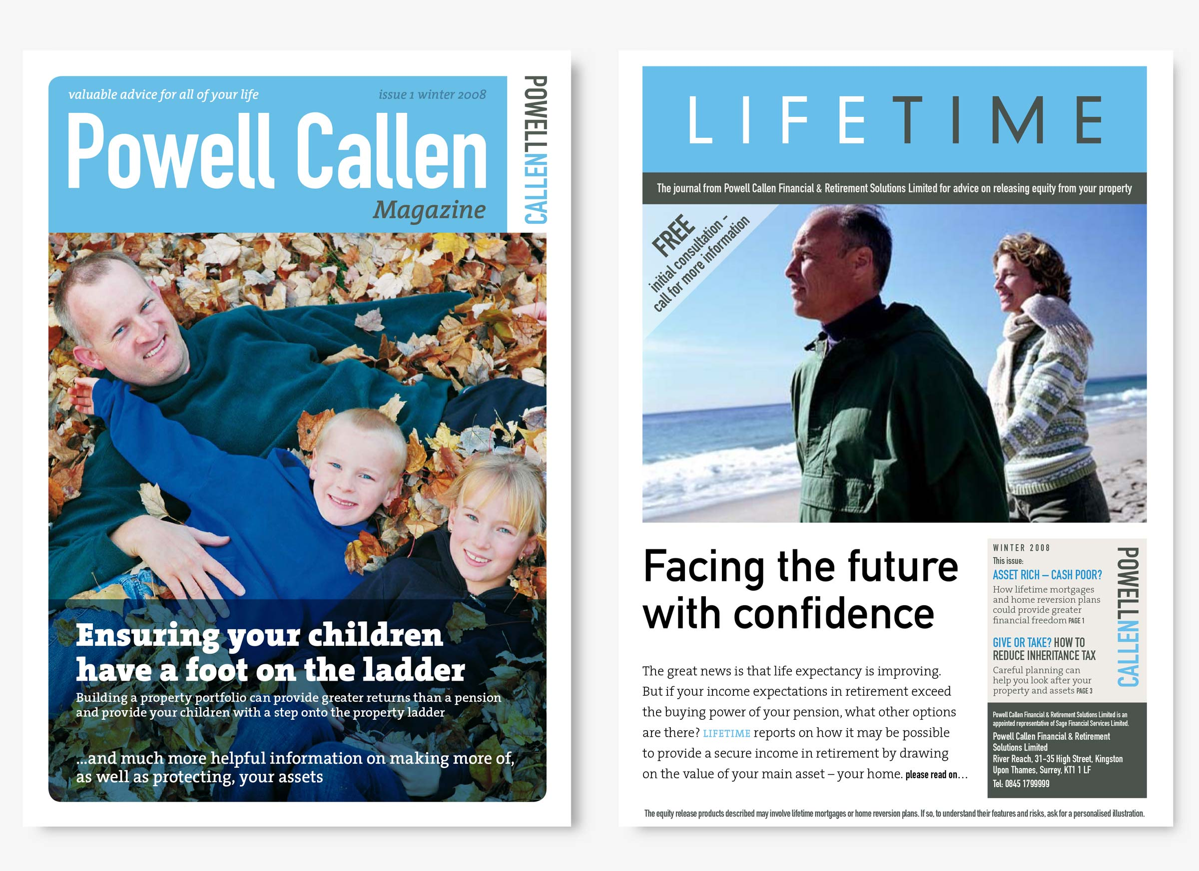 Powell Callen Solicitors magazines