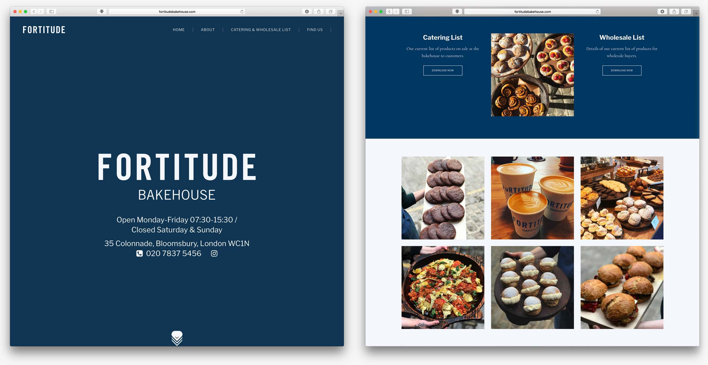 Fortitude website